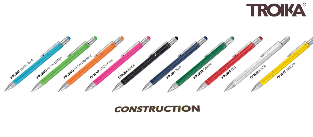 Troika Construction Pens