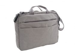 "NEXTA 17"" Crossbody Notebook Briefcase Bag Beige"
