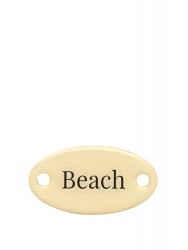 "Duke Baron Brass Tag ""Beach"""